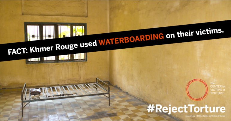FACT: Khmer Rouge used Waterboarding on their victims